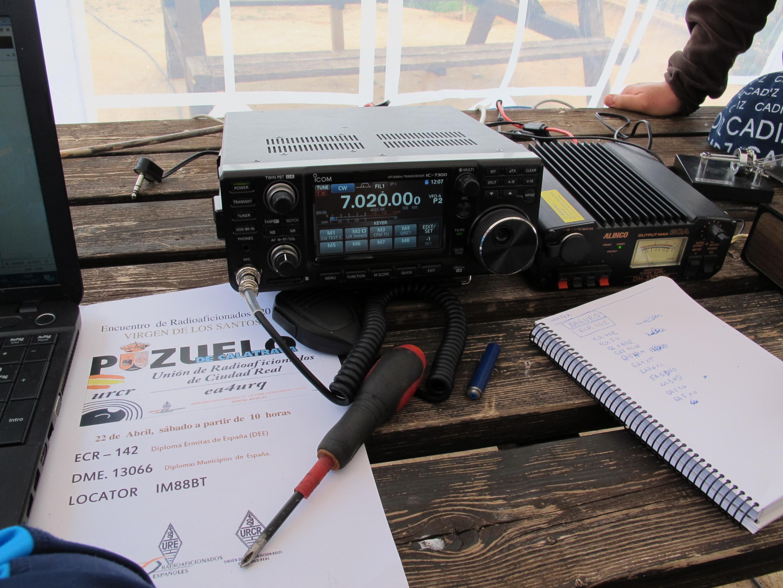 IC-7300  Una Campeona